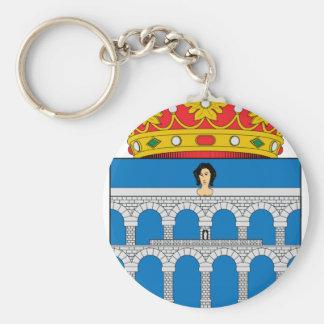 Segovia (Spain) Coat of Arms Keychain