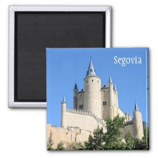 Segovia, Spain Square Magnet