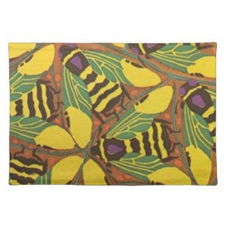 Seguy - Gorgeous Art Deco Bees Placemats