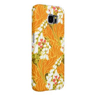 Séguy's Art Nouveau White Bell-Shaped Flowers Samsung Galaxy S6 Cases