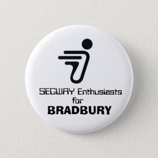 SEGWAY, Enthusiasts , for, BRADBURY 2 Inch Round Button
