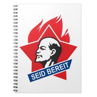 seid bereit - be prepared spiral notebook