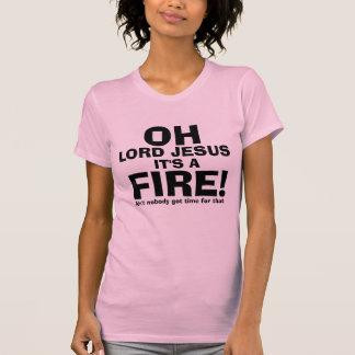 Seigneur drôle Jésus It de l'OH est un texte du T-shirt