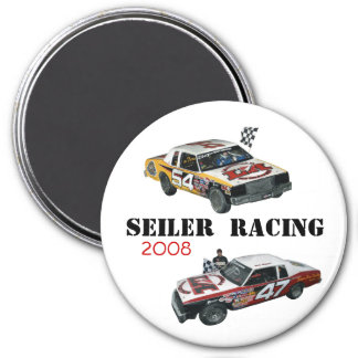 Seiler Racing '08 3 Inch Round Magnet