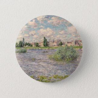 Seine at Lavacourt 2 Inch Round Button
