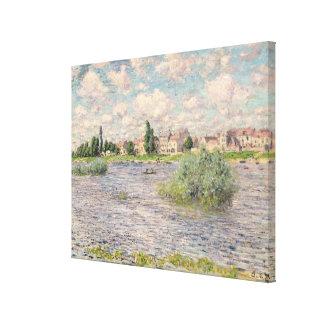 Seine at Lavacourt Canvas Print