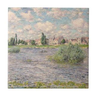 Seine at Lavacourt Tile