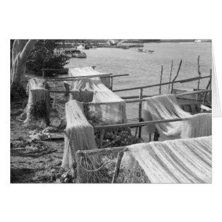 Seine Nets, Marco Island, Florida, 1959 Card