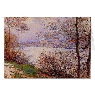 Seine River Fine Art Impressionism Card