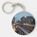 Seine Scene Key Chain