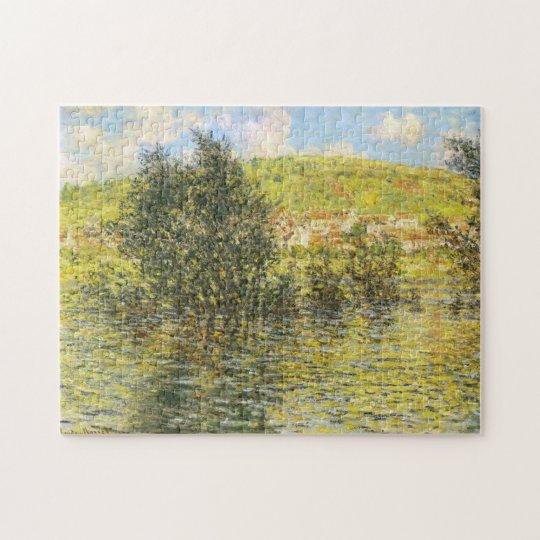 Seine Vétheuil Effect Sunshine after Rain Monet Jigsaw Puzzle
