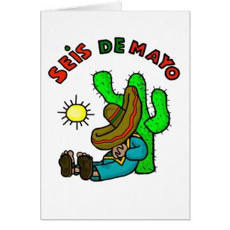 Seis de Mayo Day Afer Cinco de Mayo Card