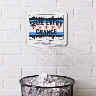 Seize Every Chance Chi City Mini Hoop