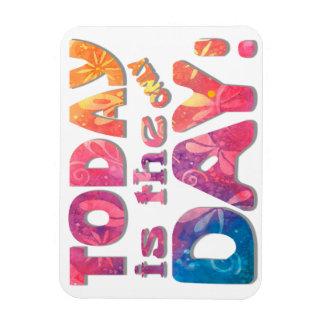 Seize the Day New Age Original Art Magnet