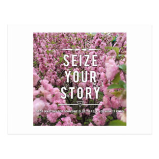 Seize Your Story Postcard