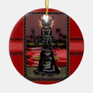 sekhmet-bint-em-ra ceramic ornament