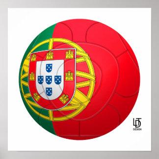 Selecção das Quinas - Portugal Football Poster
