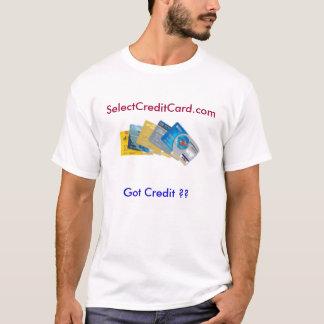 SelectCreditCard.com, Got Credit ?? T-Shirt