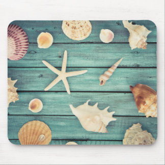 Selection Of Seashells Mouse Pad
