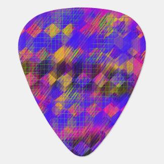 Sélections géométriques lumineuses de guitare onglet de guitare