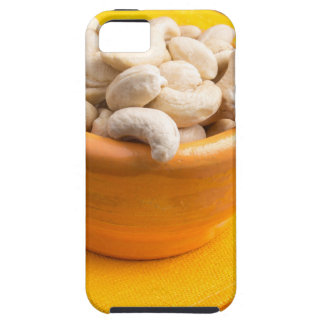 Selective focus on raw cashew nuts closeup case for the iPhone 5