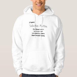 Selective mutism hoodie