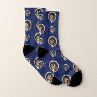Selene the Owl Socks 1