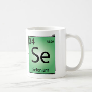 Selenium (Se) Element Mug