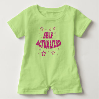 Self Actualized - Blue Baby Romper