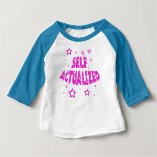 Self Actualized - Blue Baby T-Shirt