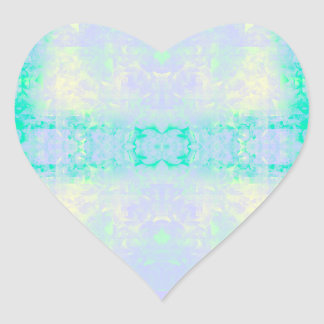 self-adhesive heart heart sticker