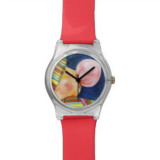 Self bubble wristwatch