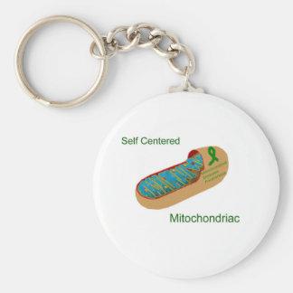 self centered mitochondriac keychain