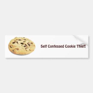 Self Confessed Cookie Thief! - Bumper Sticker