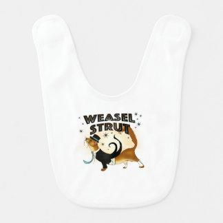 Self Confident Weasel Bib