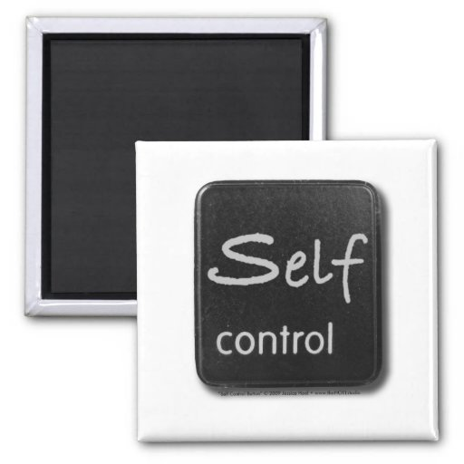 Self Control Button Magent Magnet