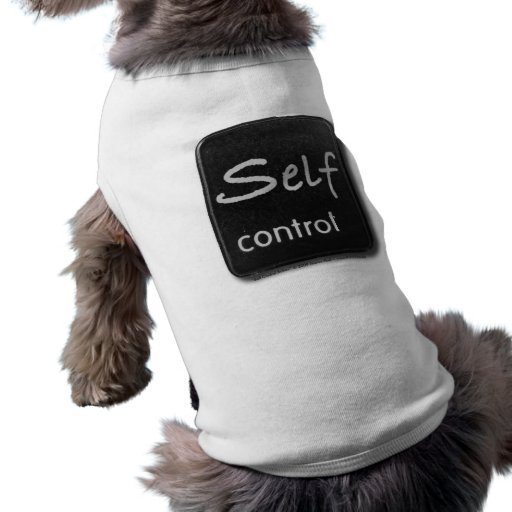 Self Control Button Pet Clothing