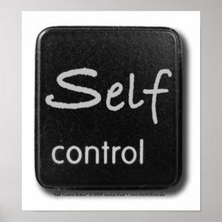 Self Control Button Print