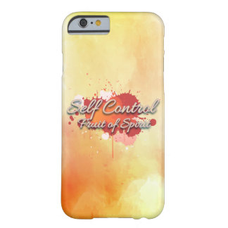 Self control, fruit of the spirit barely there iPhone 6 case