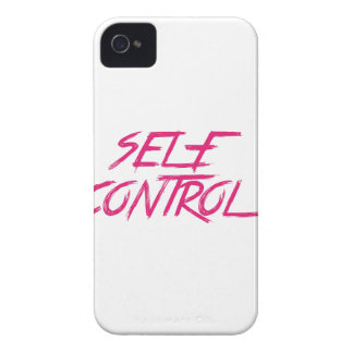 SELF CONTROL iPhone 4 CASES