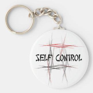 Self Control Keychain