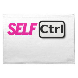 SELF CONTROL PLACEMAT