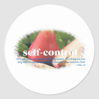 Self Control Sticker