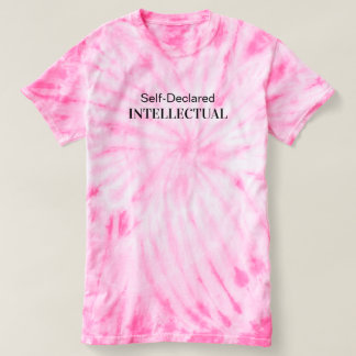 """Self-Declared"" Tie-Dye T-Shirt"