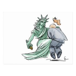 Self-Defence Liberty Postcard