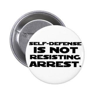 Self-Defense3 2 Inch Round Button