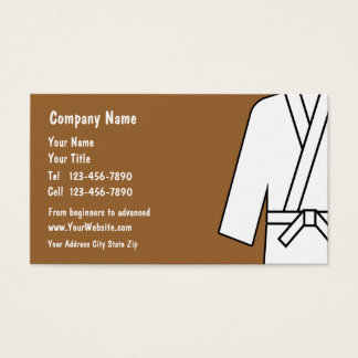 Self Defense Business Cards