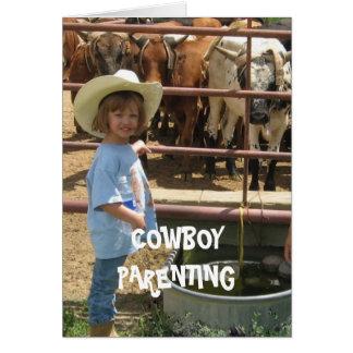 Self Defense Western Style - Cowboy Parenting Card