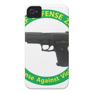 Self Defense Zone-Violence Case-Mate iPhone 4 Case