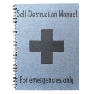self destruction notebook